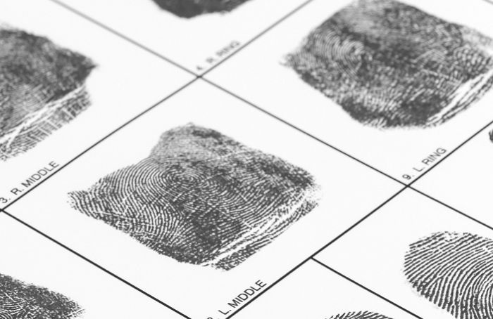 International Fingerprinting - Card Scan